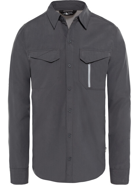 The North Face Sequoia L/S Shirt Men asphalt grey/mid grey